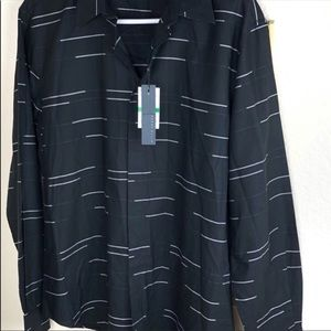 Perry Ellis Shirts - Perry Ellis Black Shirt NWT